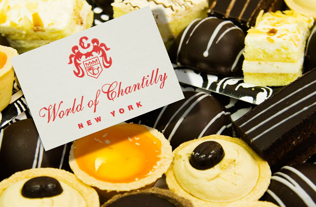 Some of World of Chantilly's pastries..