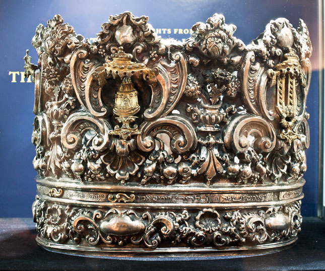 An Italian Torah crown, circa 1730