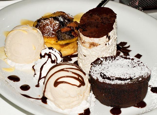 A potpourri of luscious, scrumptious, desserts