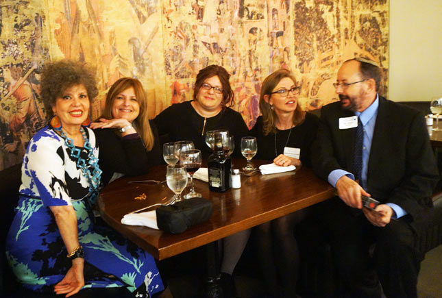Lévana, SYR, Shifra Klein (Joy of Kosher Magazine), Alessandra Rovati (Dinner in Venice) and Gil Marks (Encyclopedia of Jewish Food)